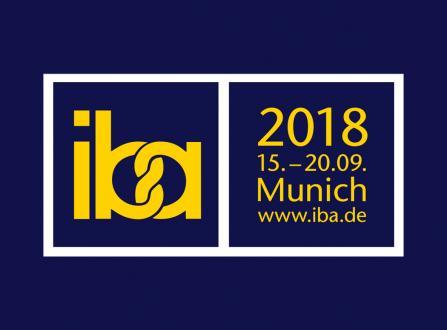 Долгожданная выставка IBA 2018 в сентябре!