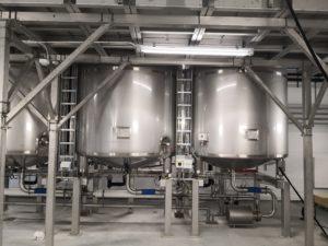 Industrial fermentation system.